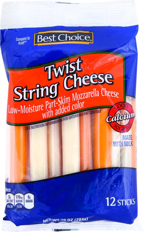 Best Choice Twist String Cheese 10 oz