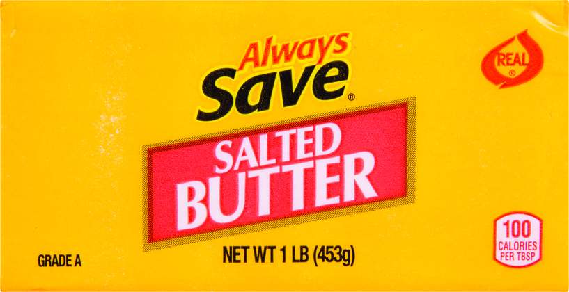 AL SAVE BUTTER CHUB