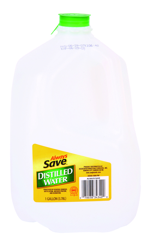 AL SAVE DISTLD WATER